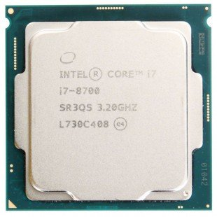 intel i7 8700K TRAY cpu