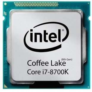 پردازنده مرکزی اینتل مدل i7 8700K