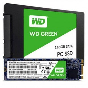 Western Digital Green PC WDS120G2G0A Internal SSD Drive 120GB