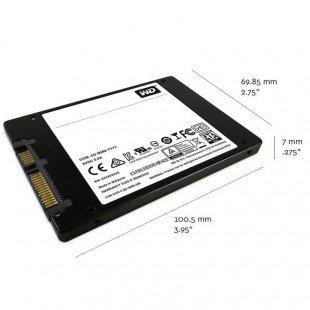 حافظه SSD وسترن دیجیتال مدل GREEN WDS120G1G0A ظرفیت 120 گیگابایت