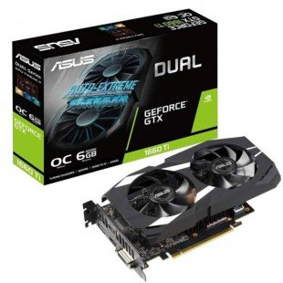 asus DUAL-GTX1660TI-O6G graphic card