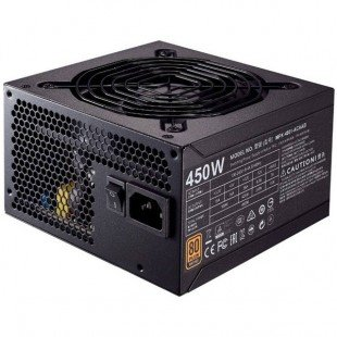 منبع تغذیه کامپیوتر کولر مستر مدل MWE Bronze 450