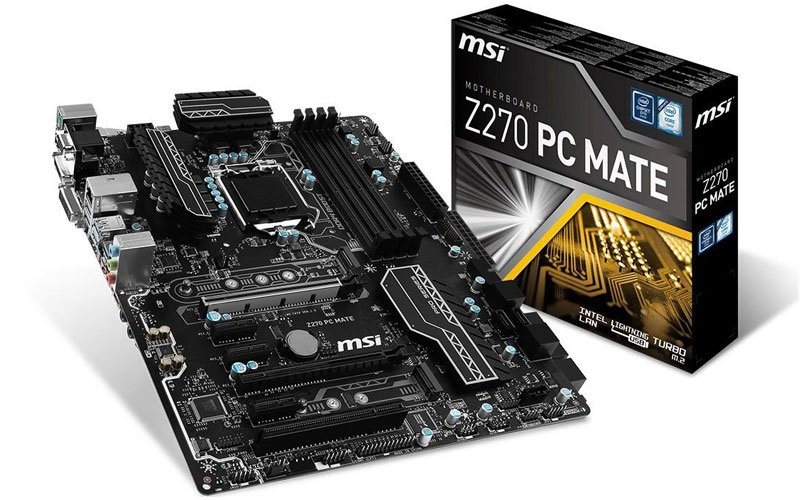 MSI Z270 PC MATE Motherboard