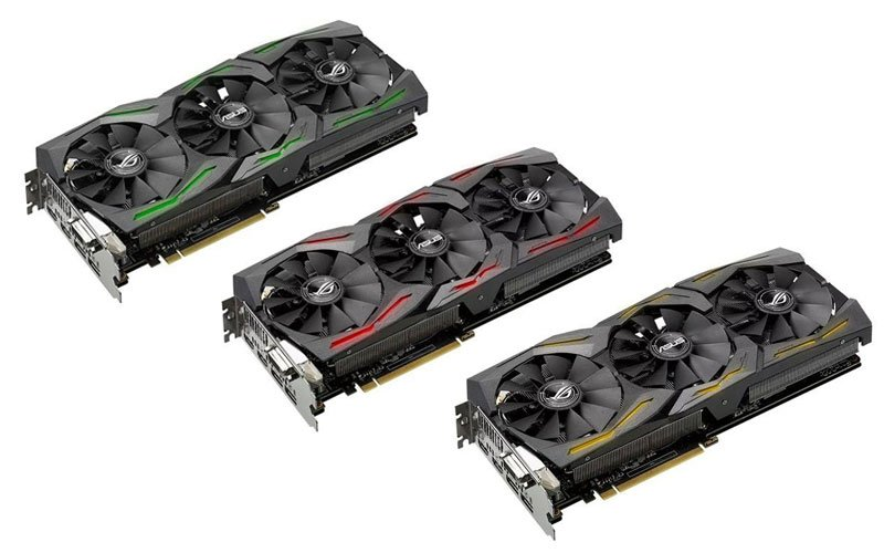 asus 1060GTX STRIX graphiccard