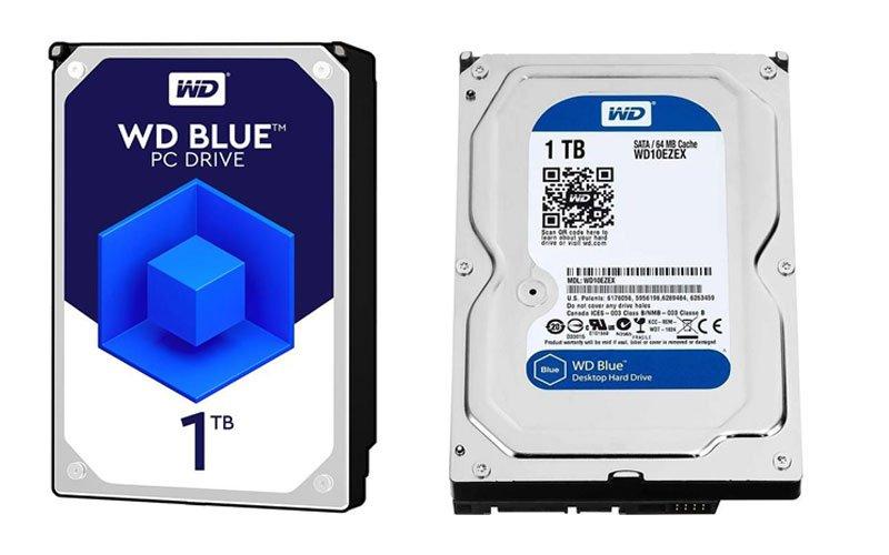 western 1TB WD BLUE 64M hard