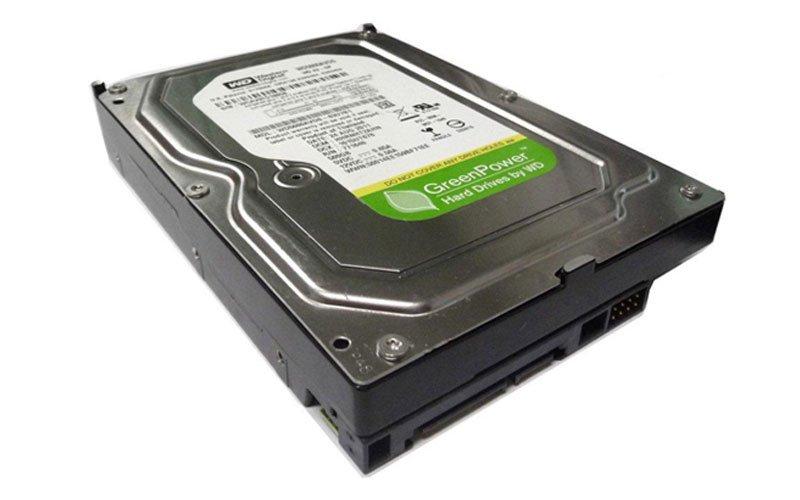 هارد دیسک سبز وسترن با 1 ترابایت حافظه