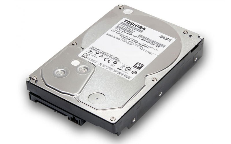 هارد دیسک توشیبا با 2 ترابایت حافظه