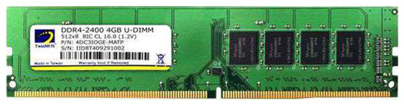 8G 2400 TWINMOS DDR4