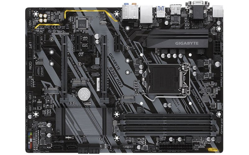GigaByte B360 HD3 Motherboard