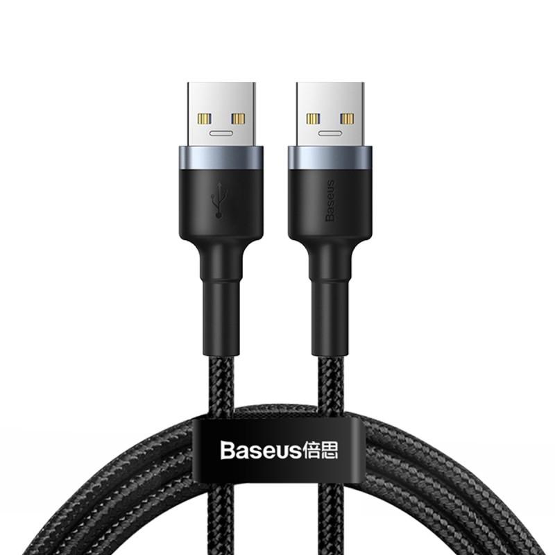 کابل شارژ و انتقال داده یو اس بی به یو اس بی بیسوس Baseus Cafule USB to USB Cable 1m 2A
