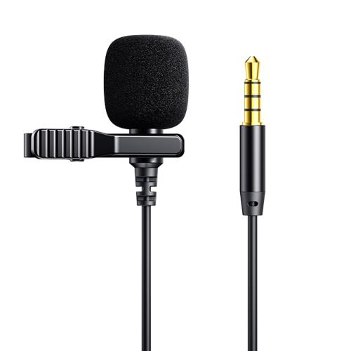 میکروفون سیم دار جویروم Joyroom Lavalier Microphone JR-LM1 3.5mm Jack 2M طول 2 متر