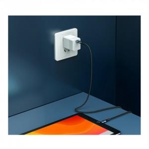 کابل شارژ سریع و انتقال داده تایپ سی به لایتنینگ بیسوس Baseus BMX Type-C PD To Lightning Cable 1.2m