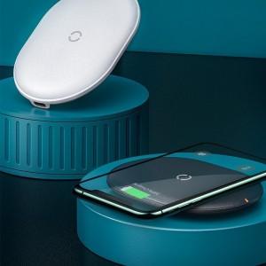 شارژر بی سیم بیسوس Baseus Cobble Wireless Charger