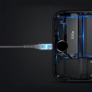 پاور بانک با کابل شارژ لایتنینگ بیسوس Baseus Energy 2in1 Power Bank Cable
