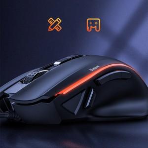 ماوس مخصوص بازی بیسوس Baseus GAMO 9 Programmable Buttons Gaming Mouse