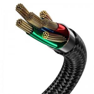 کابل شارژ و انتقال داده تایپ سی بیسوس Baseus Halo Type-C Cable 2m