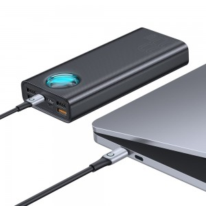 پاور بانک سریع بیسوس Baseus Amblight PD3.0+QC3.0 Quick Charge 30000mAh Power Bank