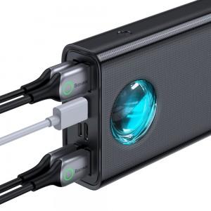 پاور بانک سریع بیسوس Baseus Amblight PD3.0+QC3.0 Quick Charge 30000mAh Power Bank