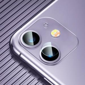 گلس محافظ لنز دوربین اپل آیفون بیسوس Baseus Gem Lens Film iPhone 11