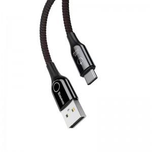 کابل Type C فست شارژ بیسوس Baseus C-Shaped Cable CATCD-01 دارای قطع کن خودکار