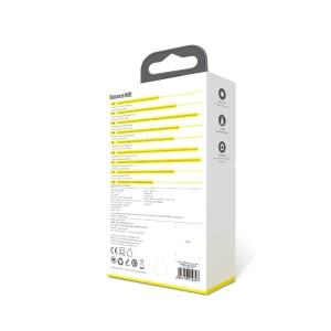 شارژر دیواری بیسوس Baseus Speed Mini Dual U 10.5W Charging Set TZCCFS-R01 با کابل لایتنینگ