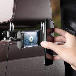 هولدر و شارژر وایرلس صندلی عقب بیسوس Baseus Backseat Holder Wireless Charger WXHZ-01 توان 15 وات