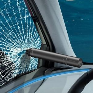 چکش اضطراری خودرو بیسوس Baseus Savior Window Breaking Flashlight CRSFH-B01