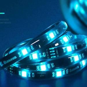 نوار ال ای دی چند رنگ بیسوس Baeus Cool Black USB Light Strip 1.5m