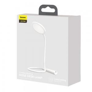 چراغ مطالعه شارژی بیسوس Baseus Comfort Reading Charging Uniform Light Hose Desk Lamp DGYR-02