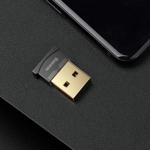 دانگل بلوتوث USB ورژن 4.0 بیسوس Baseus Wireless Adaptors For Computers CCALL-BT01