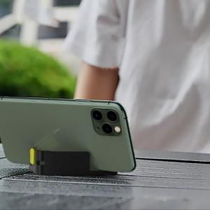استند موبایل و تبلت بیسوس Baseus Let's Go Portable Desktop Stand SUPM-GY طراحی رومیزی