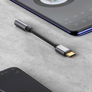 کابل تبدیل پورت تایپ سی به پورت AUX بیسوس Baseus L54 Type-C to 3.5mm Adapter CATL54-01