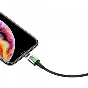 کابل آهنربایی لایتنینگ بیسوس Baseus Lightning Zinc Magnetic Cable 1m/1.5A