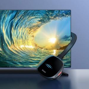 دانگل اچ دی ام آی بیسوس Baseus Meteorite Shimmer Wireless Display Adapter