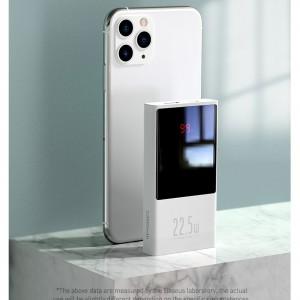 پاوربانک 10000 فست شارژ بیسوس Baseus PPMN-A01 Super Mini Digital Display Power Bank توان 22.5 وات