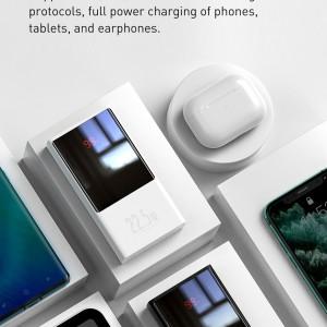 پاوربانک 20000 فست شارژ بیسوس Baseus PPMN-B01 Super Mini Digital Display Power Bank توان 22.5 وات