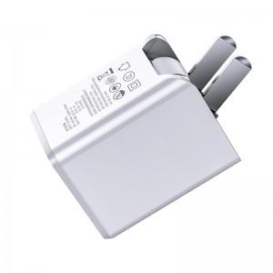 شارژر دیواری سریع با کابل تایپ سی به لایتنینگ بیسوس Baseus Traverel PD Charger TC-075PPS