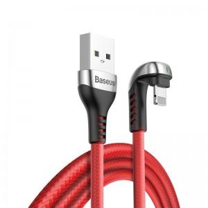 کابل لایتنینگ بیسوس Baseus Green U-Shaped Lamp Lightning Cable 2M