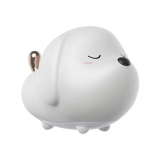 چراغ خواب عروسکی بیسوس مدل Doggie Silicone Night Light DGAM-B02 طرح سگ