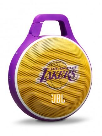 اسپیکر بلوتوث JBL Clip NBA Edition - Lakers