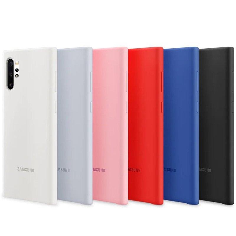 قاب SAMSUNG Galaxy Note10 Plus سیلیکونی زیرباز اورجینال برند سامسونگ