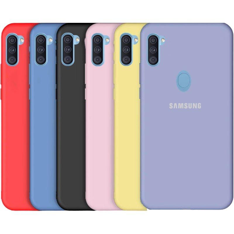 قاب SAMSUNG Galaxy A11 سیلیکونی پایین باز اورجینال برند سامسونگ