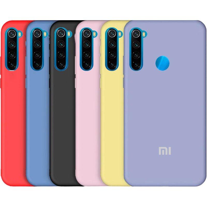 قاب گوشی Xiaomi Redmi Note 8 سیلیکونی اورجینال پاک کنی مدل پایین باز صددرصد ضد لک ساخت ویتنام