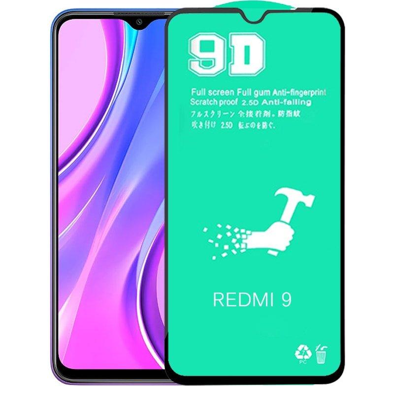 گلس سرامیکی Xiaomi Redmi 9 نانو 9D اورجینال برند آرمور