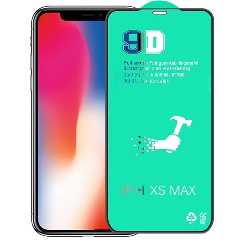 گلس سرامیکی IPHONE XS MAX نانو 9D اورجینال برند آرمور