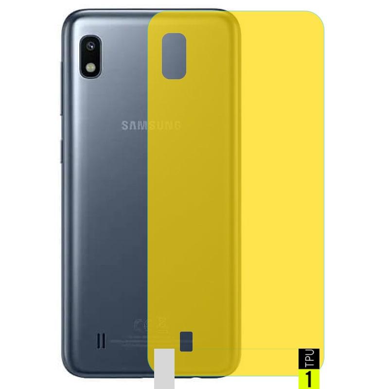 برچسب نانو پشت گوشی Samsung Galaxy A10 مدل فول کاور شفاف آنتی شوک