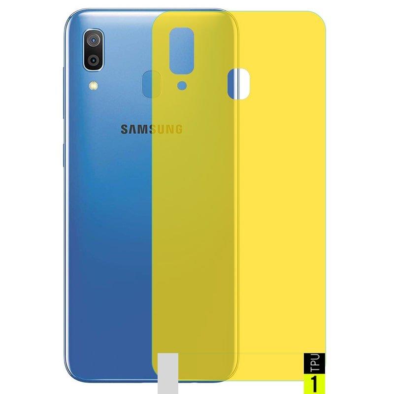برچسب نانو پشت گوشی Samsung Galaxy A20 / A30 مدل فول کاور شفاف آنتی شوک