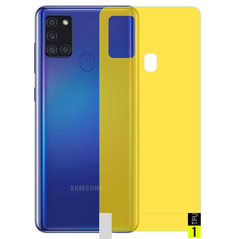 برچسب نانو پشت گوشی Samsung Galaxy A21S مدل فول کاور شفاف آنتی شوک