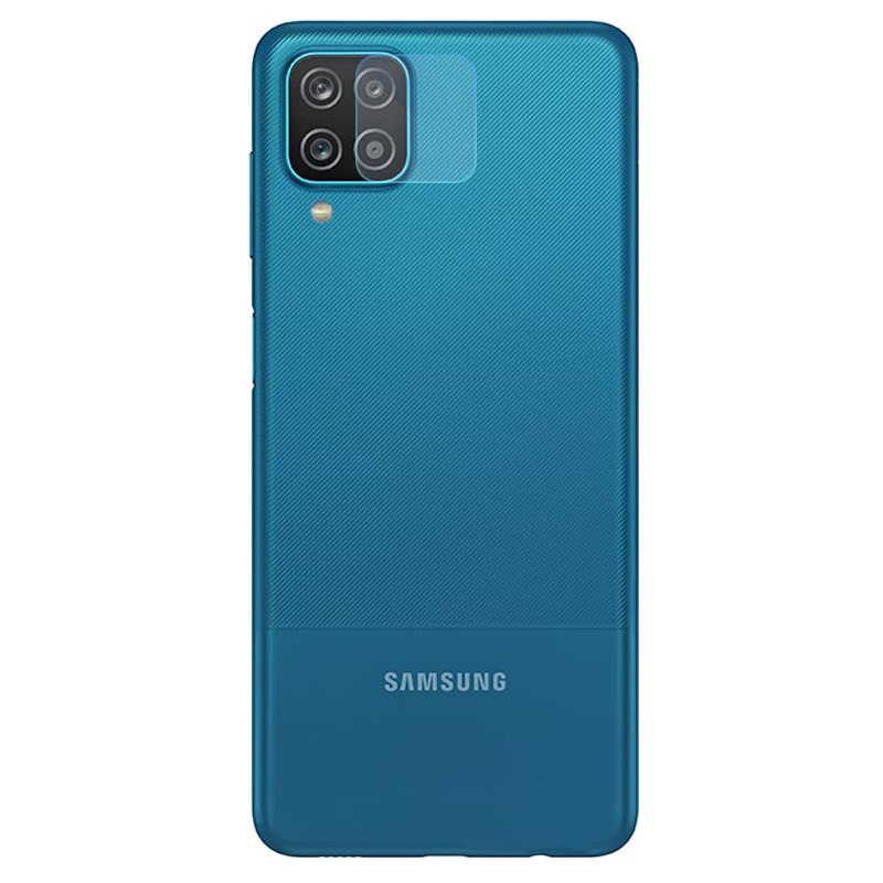 محافظ لنز دوربین گوشی Samsung Galaxy A12 مدل شیشه ای Ultra Pixel