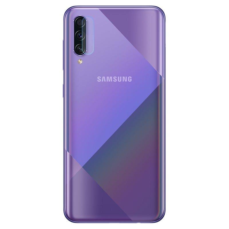 محافظ لنز دوربین گوشی Samsung Galaxy A50S مدل شیشه ای Ultra Pixel